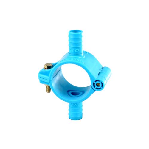 - แคลมป์รัดแยกพีวีซี(สองด้าน)1.1/2นิ้วx25มม. 315 สีฟ้า