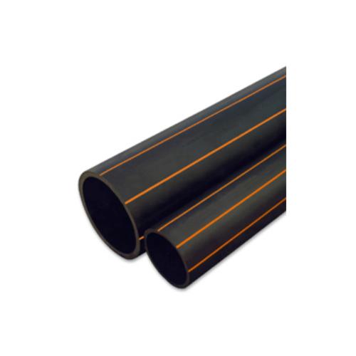 Super Products ท่อ LDPE แรงดัน4 ขนาด 50 มม.100 ม.คาดส้ม (1.1/2นิ้ว)