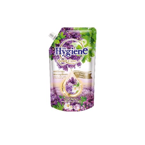 Hygiene ไฮยีนเอ็กซ์เพิร์ทแคร์ มอร์นิ่ง บลูม ม่วง 580 มล. Hygiene FS Expert Care 580 สีม่วง