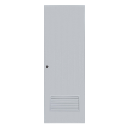 BATHIC ประตูพีวีซี ขนาด 70x179 ซม.  (ไม่เจาะ)  BC2 สีเทา