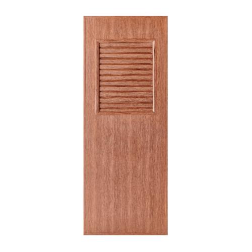 BATHIC  ประตูพีวีซี ขนาด 70x195 ซม. สีทีค (ไม่เจาะ) BL3
