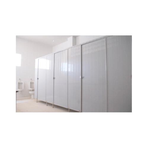 BATHIC ผนังห้องน้ำพีวีซี แผงพาร์ทิชั่น 10x125 cm. สีครีม  BATHIC PT สีครีม
