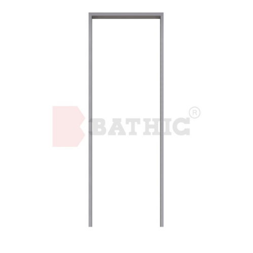 BATHIC วงกบ PVC 120cm.x120cm.  PT สีเทา