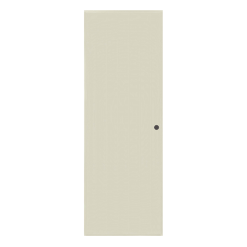 BATHIC  ประตูพีวีซี บานทึบเรียบ ขนาด 89.5x190.5ซม.  (เจาะ) BC1 สีครีม
