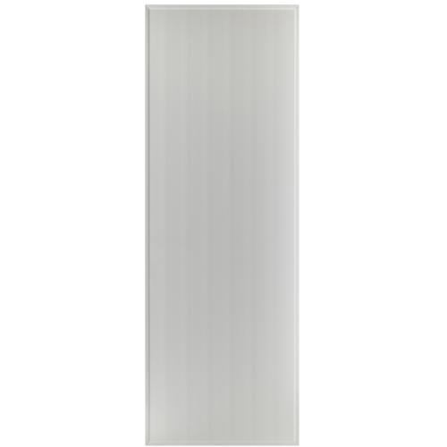 BATHIC  ประตูพีวีซี บานทึบเรียบ ขนาด  70x195ซม.  (ไม่เจาะ) BS1 สีเทา