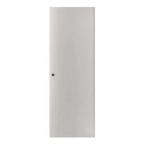 BATHIC ประตู PVC ขนาด  70x180 ซม. เจาะ BP1 สีเทา