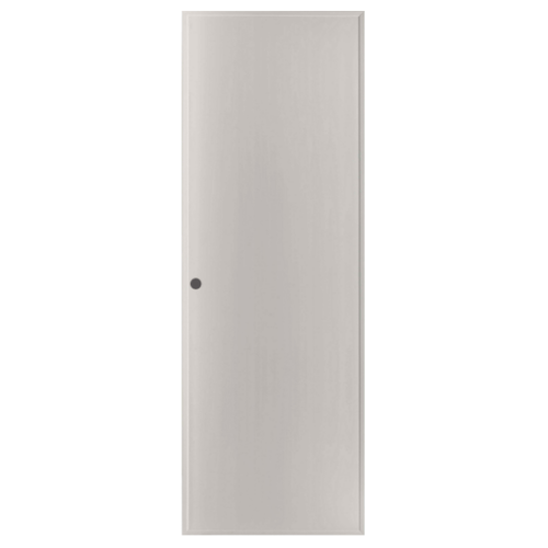 BATHIC ประตู PVC ขนาด 70x200 ซม. เจาะ BP1 สีเทา