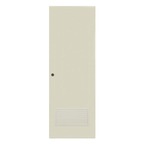 BATHIC ประตูพีวีซี  ขนาด 80x200 ซม.  BC2 สีครีม