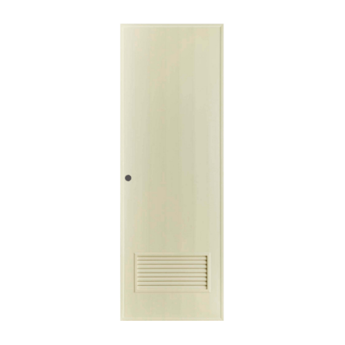 BATHIC ประตู PVC ขนาด 70x200 ซม.  BS2 สีครีม