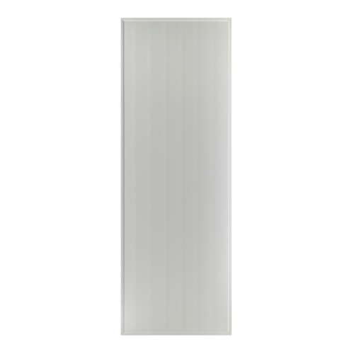 BATHIC ประตู PVC ขนาด 80x200 ซม. เจาะ BS1 สีเทา