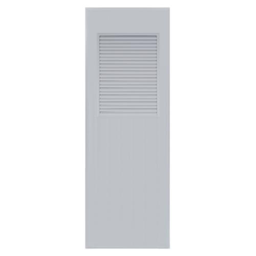 BATHIC ประตู PVC ขนาด 70x180 ซม. ไม่เจาะ BC3 สีเทา