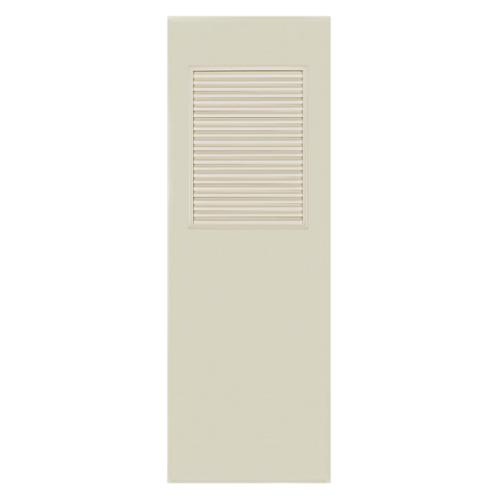 BATHIC ประตู PVC ขนาด 70x180 ซม. ไม่เจาะ BC3 สีครีม