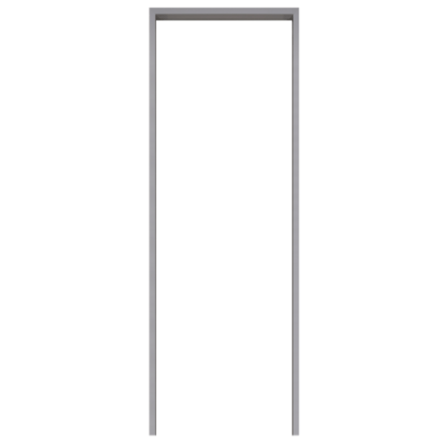 BATHIC วงกบ PVC  ขนาด 80x180 ซม.  สีเทา