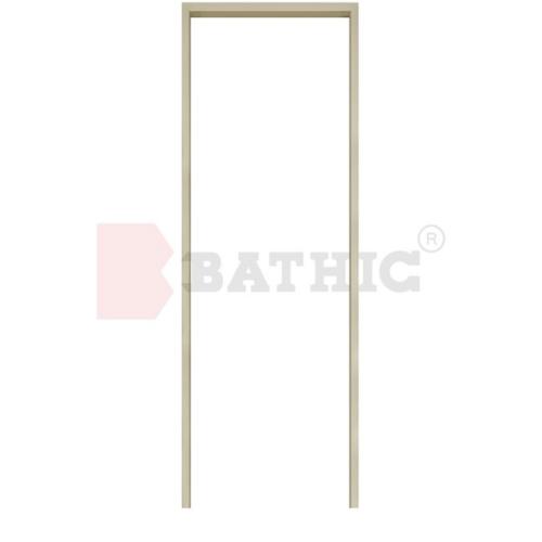 BATHIC วงกบ PVC  ขนาด 80x180 ซม. สีครีม