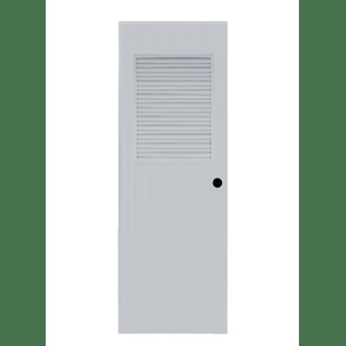 BATHIC  ประตูพีวีซี  ขนาด 70x197ซม. (เจาะรูลูกบิด) BC3 สีเทา