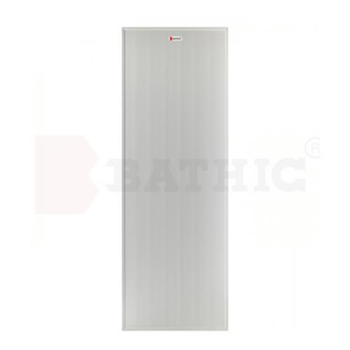 BATHIC ประตู PVC ขนาด 59.5x178 ไม่เจาะ BS1 สีเทา