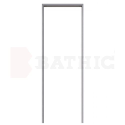 BATHIC วงกบ PVC  ขนาด  62x185  สีเทา