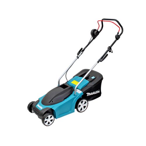 MAKITA รถเข็นตัดหญ้าไฟฟ้า(ไม่รวมสายไฟ) ELM3311 สีฟ้า-ดำ
