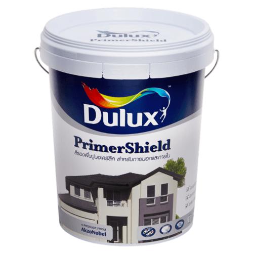 Dulux สีรองพื้นปูนใหม่ ไพร์เมอร์ชิลด์ PRIMERSHIELD สีขาว