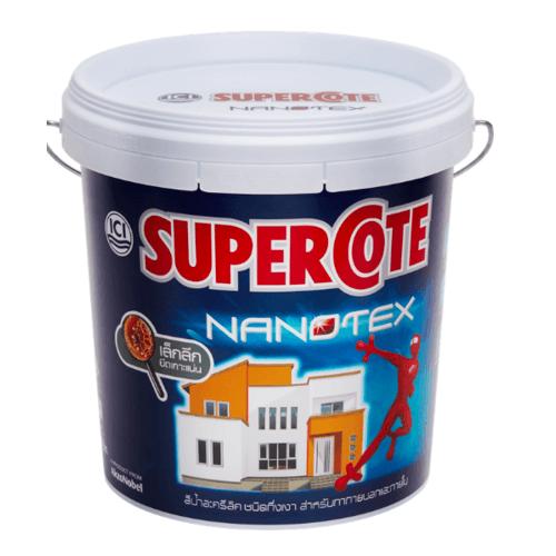 Dulux ซูเปอร์โคทนาโนเท็กซ์สีน้ำภายนอกเบส C Supercote NANOTEX