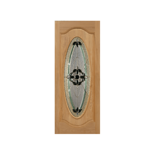 MAZTERDOOR ประตูกระจกไม้สยาแดง orchid-06 80x200 cm. -