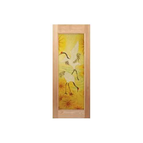MAZTERDOOR ประตูไม้สยาแดง  ขนาด 80x200cm. MASTER-004