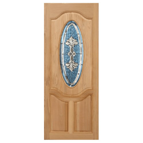 Masterdoors ประตูไม้นาตาเซีย ขนาด 95 x 200 cm.  Orchid-09