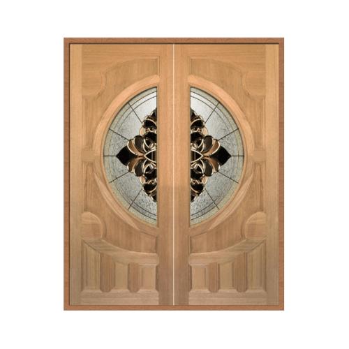 MAZTERDOOR ประตูไม้จาปาร์การ์ ขนาด 80x200(ทำสี) Vanda-05