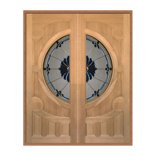 MAZTERDOOR ประตูไม้สนนาตาเซีย  ขนาด 80x200 CM. Vanda-06