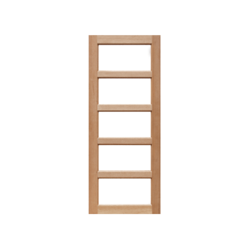 Masterdoors ประตูกระจกไม้สยาแดงกระจกฝ้า ขนาด 90x200 cm.  MD-01/2