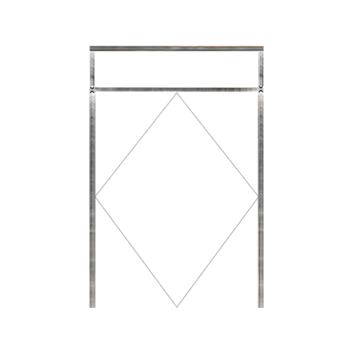 MAZTERDOOR วงกบประตูไม้ ขนาด 200x240cm.  SET5