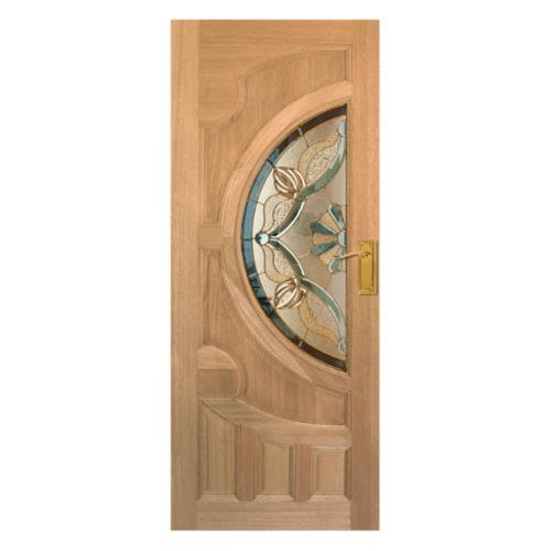 MAZTERDOOR ประตูไม้จาปาร์การ์  ขนาด 90x200 cm. VANDA-02