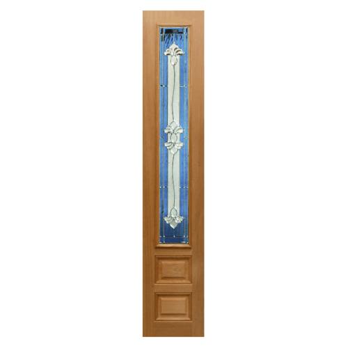 MAZTERDOOR ประตูกระจกไม้นาตาเซีย 90x200 cm.  Jasmine-09A