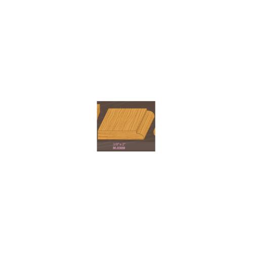 MAZTERDOOR ไม้คิ้วตกแต่งไม้เปอร์เชีย M.0309 3/8X2X3.00cm. ไม้คิ้วไม้คิ้วตกแต่งไม้เปอร์เชีย M.0309 3/8X2X3.00cm.