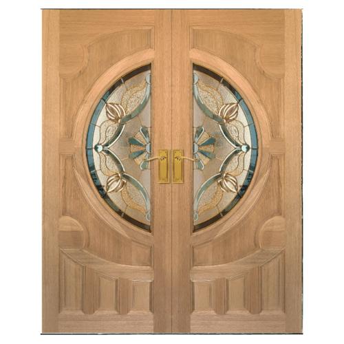 MAZTERDOOR ประตูกระจกสยาแดง  ขนาด 80x200 cm.(สีขาว)  VANDA-02