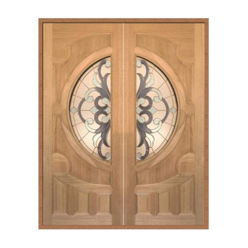 MAZTERDOOR เชท 1 ไม้สยาแดง  ขนาด 160x200 cm. VANDA-03
