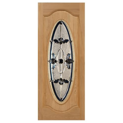 MAZTERDOOR ประตูไม้สยาแดง ขนาด 70x180  cm. ORCHID-07