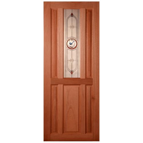 MAZTERDOOR ประตูกระจกสยาแดง  70x180 cm. SS-01/1