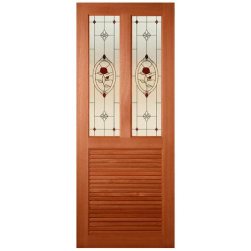 MAZTERDOOR ประตูกระจกสยาแดง  70x200 cm. SS-03/3