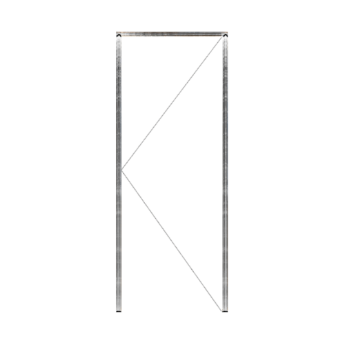 MAZTERDOOR วงกบประตู  ขนาด 100x240 cm. SET 1