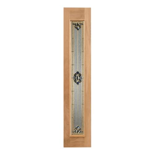 MAZTERDOOR ประตูกระจกสยาแดง ขนาด 37.5x196  Jasmine-05
