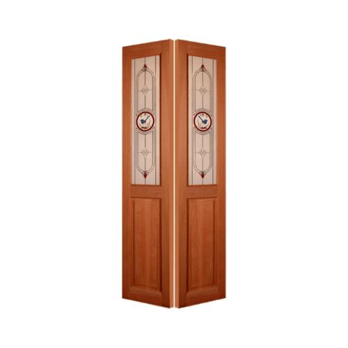 MAZTERDOOR ประตูกระจกสยาแดง ขนาด 40x200 cm.  SL