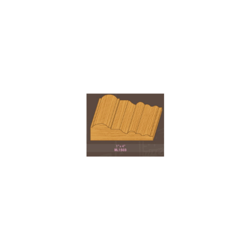 MAZTERDOOR ไม้เปอร์เซีย  M.1503 บัวซับวงกบ ขนาด 1x4x3.5 ไม้เปอร์เซีย  M.1503 บัวซับวงกบ ขนาด 1x4x3.5