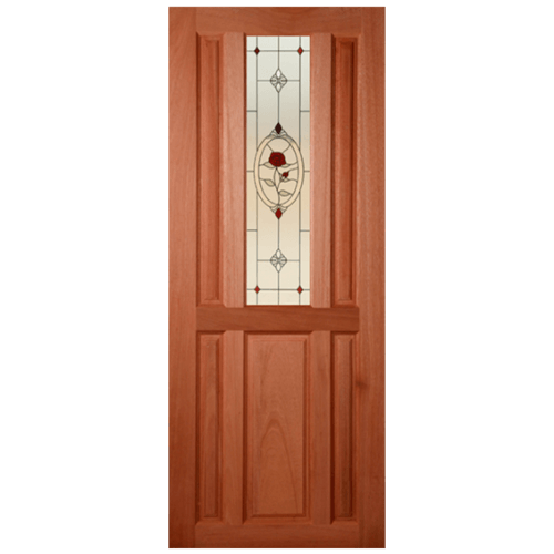 MAZTERDOOR ประตูไม้สยาแดง  80x180cm.  SS 01/3