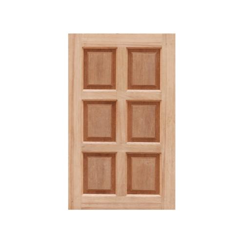 MAZTERDOOR ประตูหน้าต่างไม้สยาแดงทึบ   6ช่อง ขนาด  50x100 ซม.
