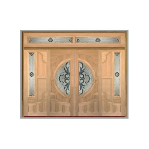 MAZTERDOOR SET B ประตูไม้นาตาเชีย(บานสไลด์)  320X240 cm.  VANDA-03