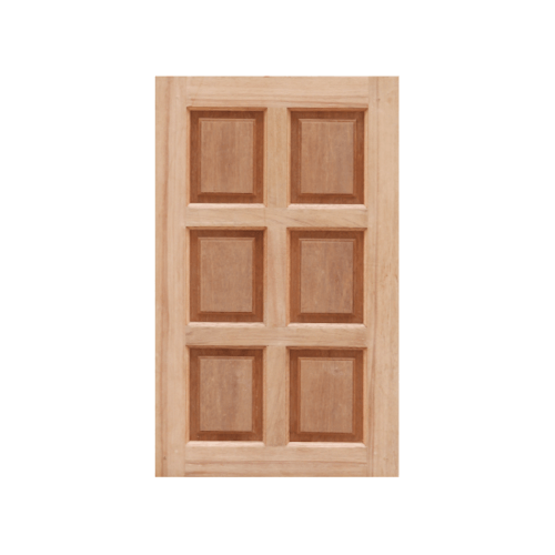 MAZTERDOOR หน้าต่างไม้สยาแดง 6 ฟัก  ขนาด 100X100 cm.