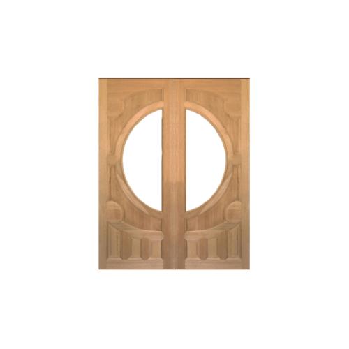 MAZTERDOOR ประตูไม้สยาแดง  80X200 cm.(ไม่รวมกระจก) VANDA