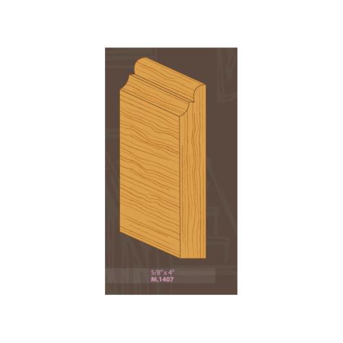 MAZTERDOOR ไม้คิ้วไม้เปอร์เชีย M.1407 5/8x4x3.30m. MAZTERDOORS M.1407