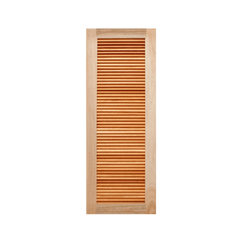 MAZTERDOOR ประตูไม้สยาแดง เกล็ดเต็มบาน   ขนาด 80x200ซม.